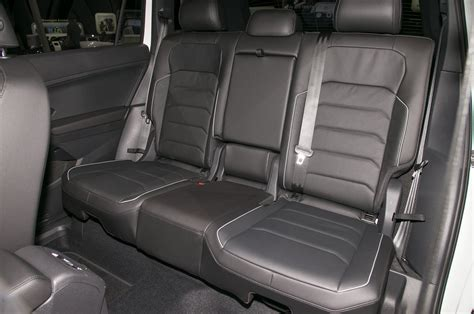 volkswagen tiguan 2018 interior 2018 volkswagen tiguan r line rear interior seats motor