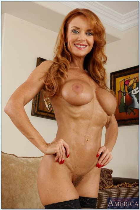 Sizzling Hot Redhead MILF Janet Mason Banged Hard MILF Fox
