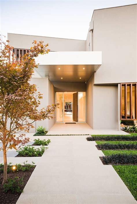 entree de maison moderne entree maison contemporaine