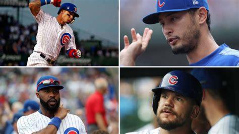 cubs roster outlook   whos   return