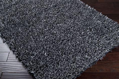 grey shag rug surya area rugs fusion shag rug fsn6000 silver gray