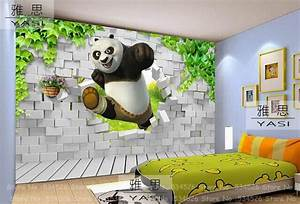 Hand Crafted Kids Room Wallpaper Scenes Mountain Computer ...