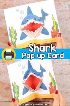 shark pop  card pop  card templates shark week