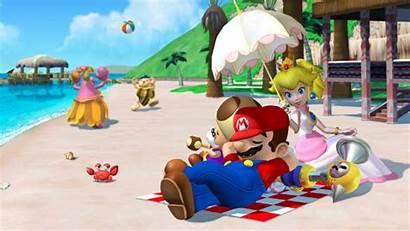Mario Super Nintendo Sunshine Stars 3d Invert