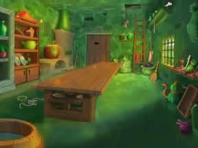 Cartoon Inside House Dining Room