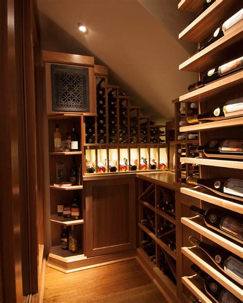 functional wine cellar designs  clever