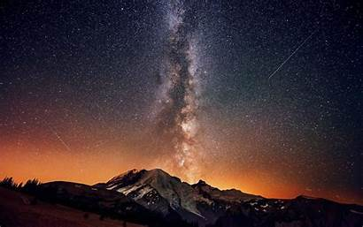Stars Mountain Landscape Wallpapers Desktop Backgrounds Mobile