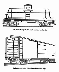 freight train coloring pages | Train coloring pages, Cars ...