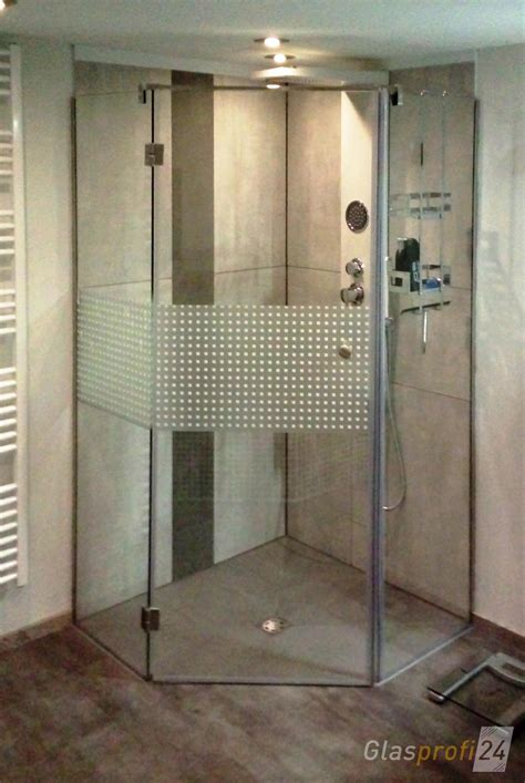 f 252 nfeck duschkabine aus glas glasprofi24