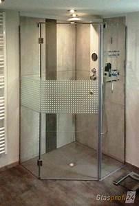 Dusche Folie Glas : 5 eck dusche aus glas glasprofi24 ~ Frokenaadalensverden.com Haus und Dekorationen
