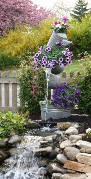 build your own outdoor water ideas to make your own outdoor water fountains top cool diy