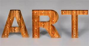 art in block font marquee collection by got light With block letters with lights