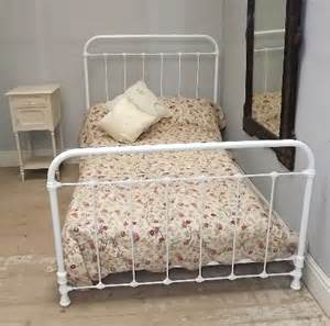 Wesley Allen Twin Headboards by Superb Antique Iron 4ft Bed C1900 Images Frompo
