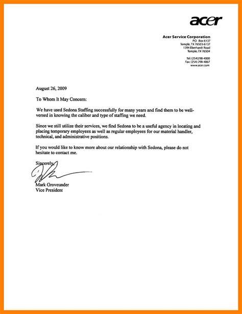 testimonial template testimonial letter sle well representation for employee from employer 7 scholarschair