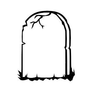 Tombstone Coloring Page - Eskayalitim