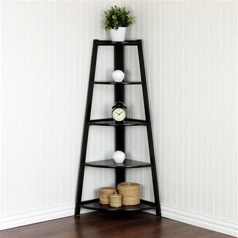 top  corner shelves  living room
