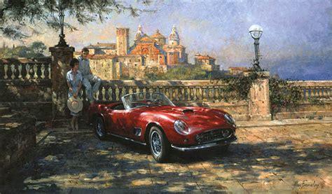 automobile art fearnley alan vista bella