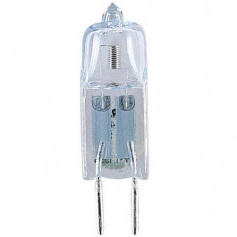 sylvania 64425 20 watt g4 base halogen clear 12v