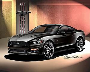 Ford Mustang Gt 2015 : ford mustang 2015 2016 fine art prints posters by danny whitfield ~ Medecine-chirurgie-esthetiques.com Avis de Voitures