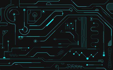 Computer Circuit Wallpaper Wallpapersafari