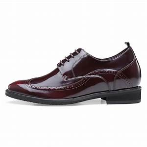 Chamaripa High Heel Men Dress Shoes Height Increase