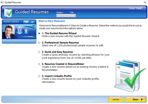 Resume Maker by Resumemaker Professional 20