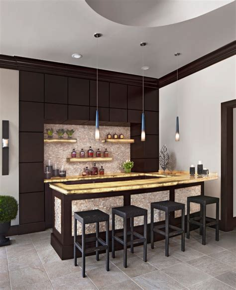 Small Bar Designs by 18 Small Home Bar Designs Ideas Design Trends