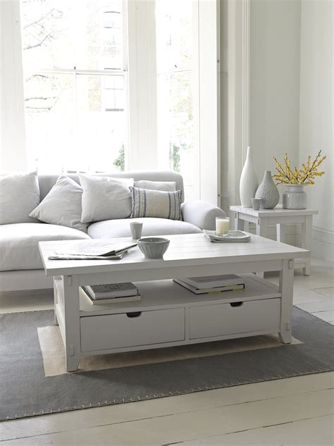 White Table by Gorgeous White Coffee Table Great White Loaf