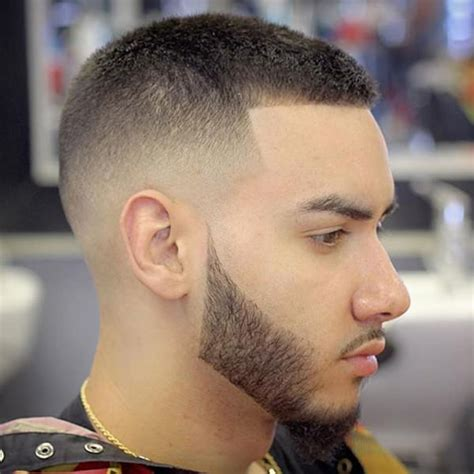 outstanding military haircut  men