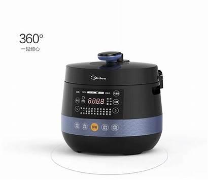 Cooker Pressure Multi Timer Insert Midea Liter