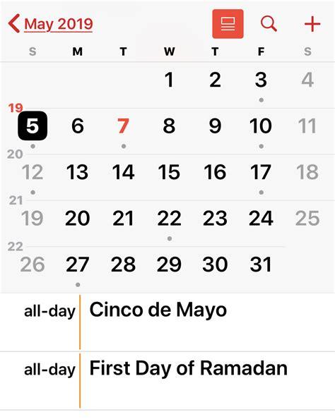 remove holidays  calendar  iphone ipad