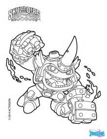 Skylanders Coloring Pages Trap Team
