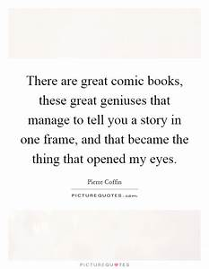 There are great... Great Comic Book Quotes