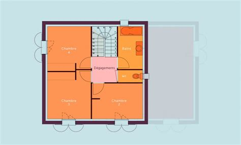 plan maison 1 chambre plan maison 1 chambre plan maison plain pied 2 chambres
