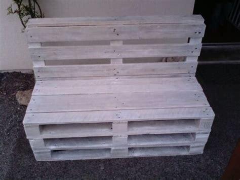 canapé palette bois canapé en palette bois blanchi de atelier bois ardennes