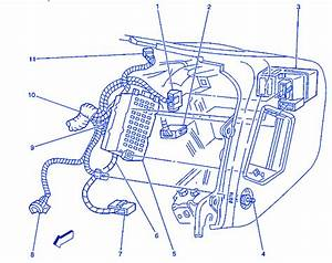 Chevrolet Blazer 4wd 1996 Inside Electrical Circuit Wiring Diagram