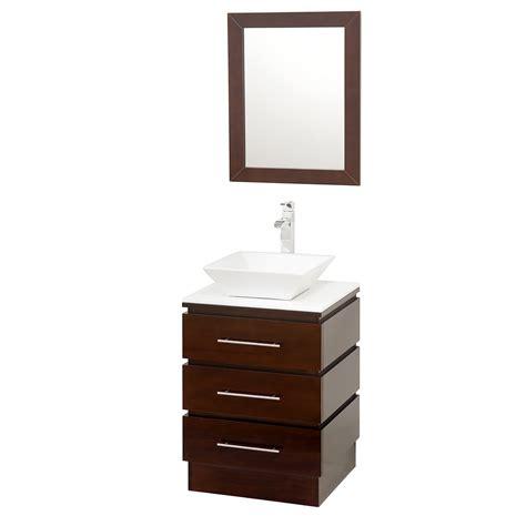 22 inch vanity with sink wyndham collection rioni 22 quot bathroom vanity set espresso