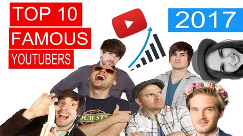 Top 10 Famous Youtubers In The World In 2017 Youtube