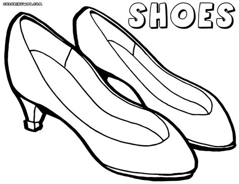Coloring Shoes by Shoes Coloring Pages Coloring Pages To And Print
