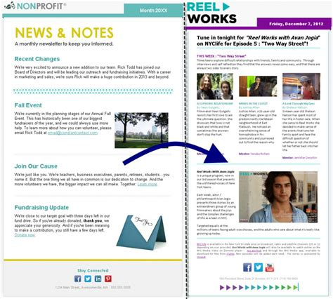 constant contact email templates 3 email design tips for nonprofits constant contact blogs