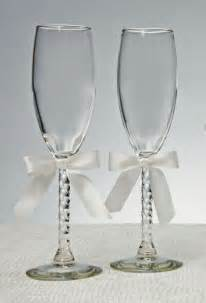 wedding glasses engraved wedding toasting flutes with sculpted stem