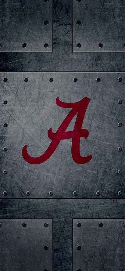 Alabama Football Tide Crimson Metal Iphone