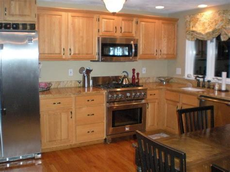oak cabinets kitchen ideas best kitchens with oak cabinets ideas railing stairs and