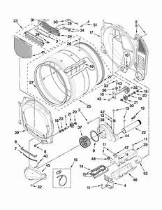 Amana Model Ned7300ww1 Residential Dryer Genuine Parts