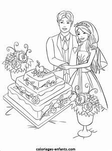 Dessin Couple Mariage Couleur : coloriage mariage disney dessin gratuit imprimer ~ Melissatoandfro.com Idées de Décoration