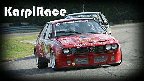 alfa romeo alfetta gtv race car   hp pure sound