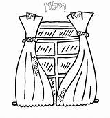 Curtain Coloring Pages Curtains Drawing Stage Window Tots Torah Getdrawings Sketch Torahtots Template 2000 Inc sketch template