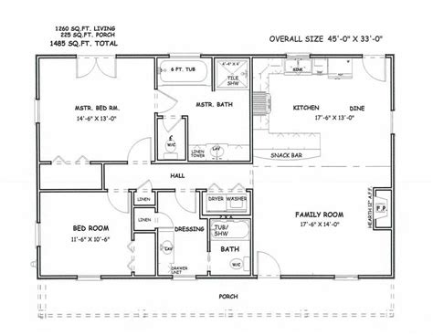 New Large 2 Bedroom House Plans New Home Plans Design