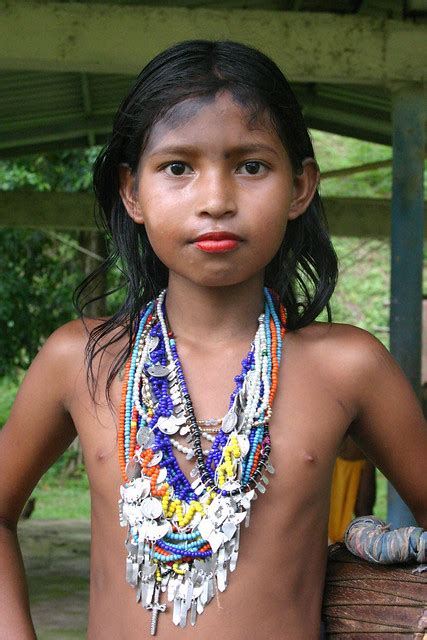 Embera Wounaan Girl Flickr Photo Sharing
