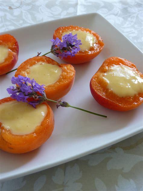 abricots farcis cr 232 me dessert des 238 les recette